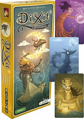 DIXIT: DAYDREAMS Expansion Family Game