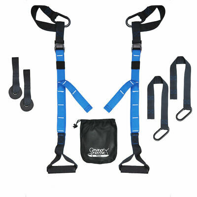 Protone Dual Suspension Strap Training System - Bodyweight Strength And Fitness