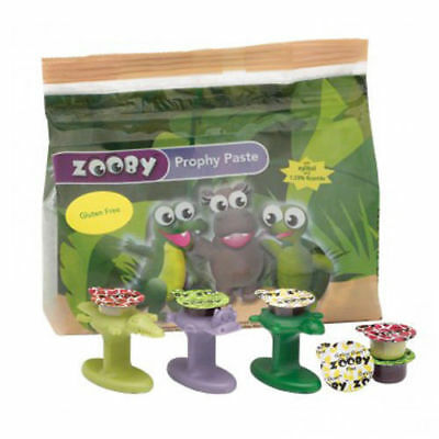 100 Cups, Zooby Gluten Free Prophy Paste with Xylitol plus 1 Cup Gripper