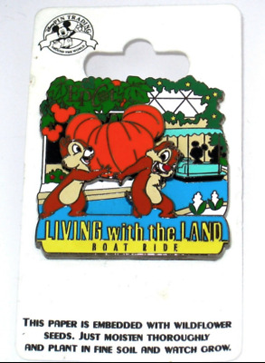 NEW Disney Pin✿Chip Dale Pin 83255 WDW Living with Land Mickey Minnie Boat Ride