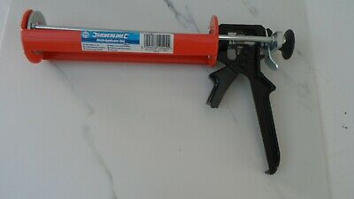 RESIN APPLICATOR GUN 380ml SILVERLINE 868515