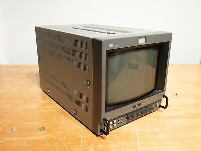 "Sony PVM-8044Q 9"" Color Video Monitor with Portabrace case"