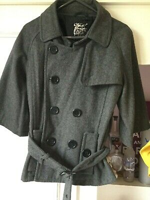 Designer New Look 915 GENERATION GREY BRAND NEW COAT/JACKET GIRLS