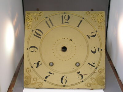 Antique Wooden Works Clock Dial American