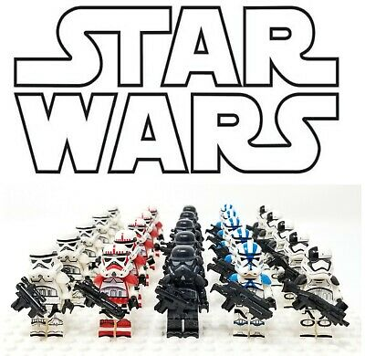 Star Wars Stormtrooper Minifigure Lots For Lego - Choose Your Style - USA Seller