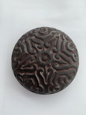 Antique Chinese Carved Lacquer Box