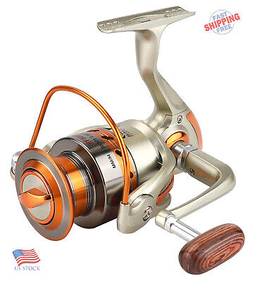 Spinning Fishing Reel Saltwater 12BB Ball Bearing Left//right Interchangeable US