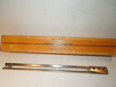 Kodak Process Thermometer Stainless Steel In Original Box