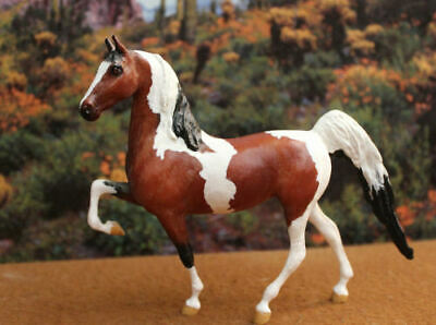 Vintage Breyer Custom Little Bit  Horse Tobi by Beth Hoffert 11/93