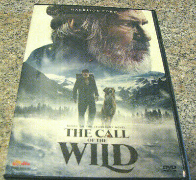 The Call of the Wild (DVD 2020) WITH HARRISON FORD FROM JACK LONDON BOOK~