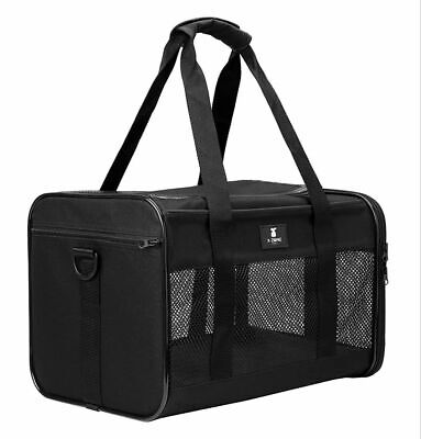 Airline Approved Pet Carrier For Dogs And Cats Size Medium Maximum Weight 16 Lbs