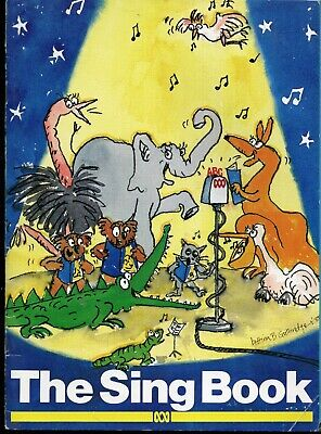 ABC 1989 THE SING BOOK Sheet Music Book 46 Songs 80 pages