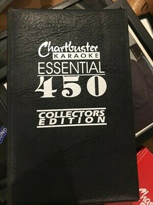 Chartbuster KARAOKE Essential 450 E1 & E2 Collector's Edition-60 discs CD+G, CDG