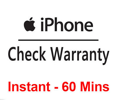 Apple iPhone iWatch Warranty Coverage Check Service - by IMEI only | Instant