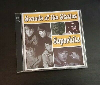 Cd Double Album - Time Life - Sounds Of The Sixties - Superhits