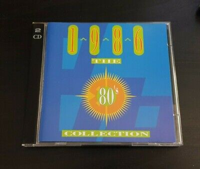 Cd Double Album - Timelife - The 80'S Collection - 1986