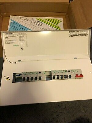 Schneider Easy 9 Comsumer Unit EZ9R6R6MREL Brand New 6 + 6 Way Amendment 3