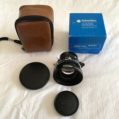 Schneider Symmar-S-MC Large Format lens - 210mm 5,6 Copal 1 *BOXED + CASE*