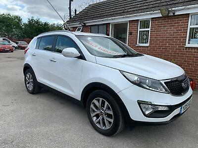 2015 Kia Sportage 1.7CRDi ISG Axis Edition, One Owner, Full Service History