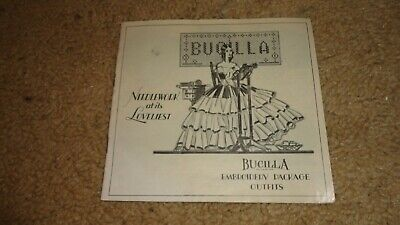 Vintage Bucilla Embroidery Package Outfits Catalog Needlework 1928