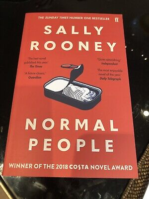 Normal People By Sally Rooney 2019 Paperback Book Brand New And Unread