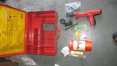 Hilti DX200 Piston Drive Tool Nail Gun kit   MINT & COMBO  (894)