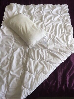 John Lewis Baby Cot Bed/ Toddler Bed Duvet 7 Tog And Pillow