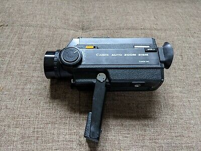 Canon Auto Zoom 318M Vintage Super 8 Cine Film Camera - Working. Film tested.
