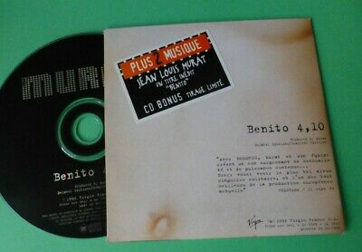 "JEAN LOUIS MURAT  "" Dolorés , Benito "" CD SINGLE PROMO LIMITE STICKER"