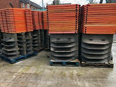Road Barriers Oxford Strongwall Chapter 8 Pedestrian Safety Barrier Packs of 15