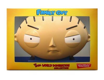 The Total Family Guy World Domination Collection 22-Disc Dvd Set - Stewie Head