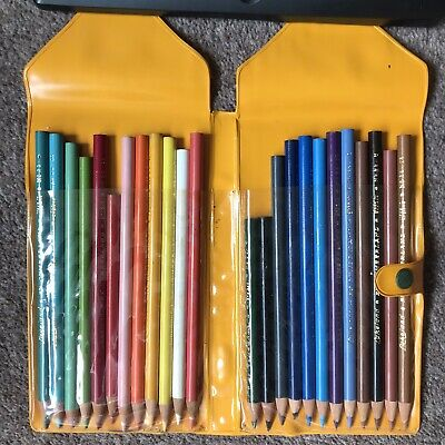 Lakeland by Cumberland Vintage Colour Pencil Set and Case