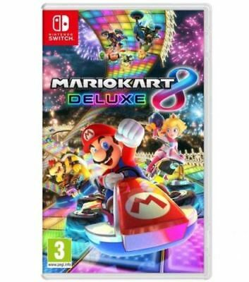 New Mario Kart 8 Deluxe for Nintendo Switch - Brand