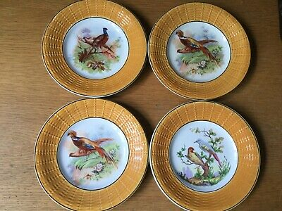 4  Vintage French Sarreguemines  and Digoin   Plates