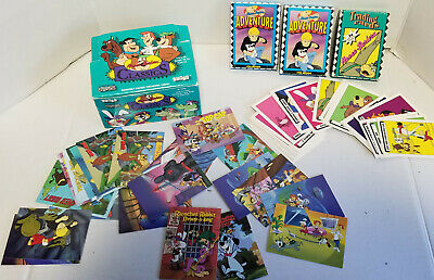 Lot of  Vintage Hanna Barbera Trading Cards collectible Gold
