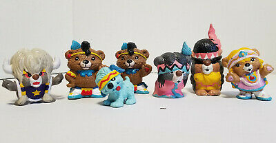 Lot of  Vintage Applause Paw Paws pvc Figures