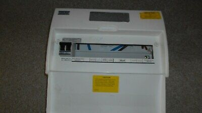 Volex Consumer Unit With Vsw100A Main Switch Only.used.