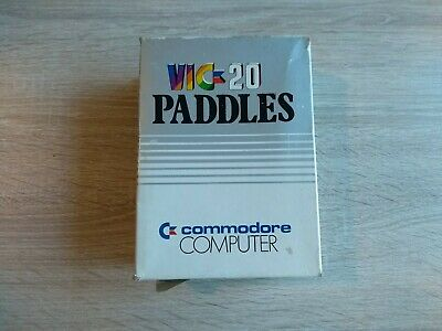 Vintage boxed Commodore 64 VIC-20 Paddles