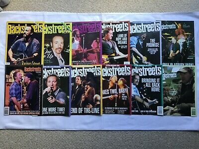 Springsteen Backstreets Magazine - Choose Copies For £2.49 Each