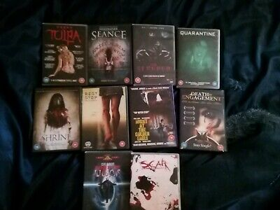 10 Horror Dvds Joblot
