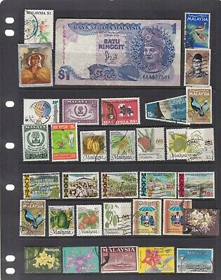 Malaya States 3 Scans Mixed  With Currency Lot2