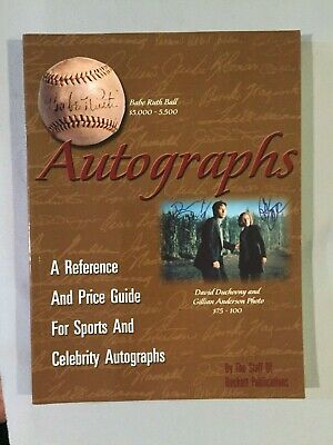 Beckett Publications AUTOGRAPHS REFERENCE & PRICE GUIDE *1999* Sports Celebrity