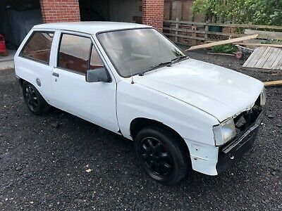 Vauxhall Nova Sr 1.3 Litre 1985 Spares Or Repairs Barn Find Resto Project