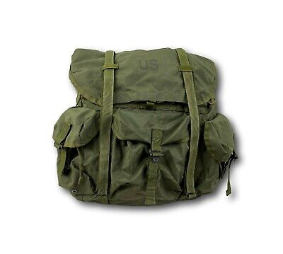 Vintage 1990's US Military Army LC-1 Combat Nylon Field Alice Pack Backpack
