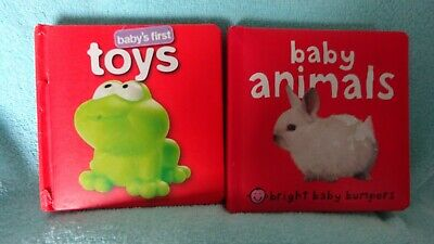 Two Baby Book,S Baby Animal,S And Toy,S  Vgc