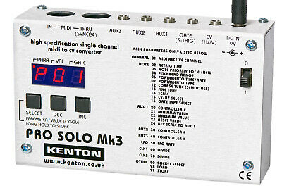 NEW Kenton Pro solo MK III Midi to CV interface