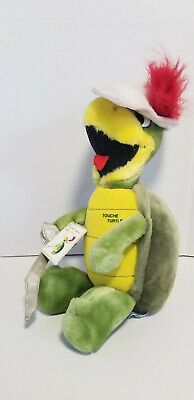 Vintage 1985  Presents Touche Turtle Plush Doll