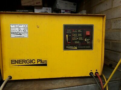 ENERGIC Plus Battery Charger IN 208VAC Output 36V DC 80A For Forklift, TSS 36/80