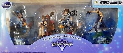 Disney Characters Formation Arts Kingdom Hearts Square Enix Sealed New Unopened