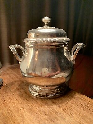 Christofle Silver Plated Sugar Bowl And Cover